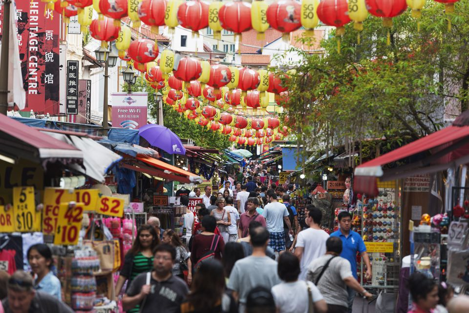 Singapore's bustling Chinatown