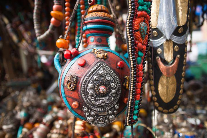 Tibetan handicrafts.