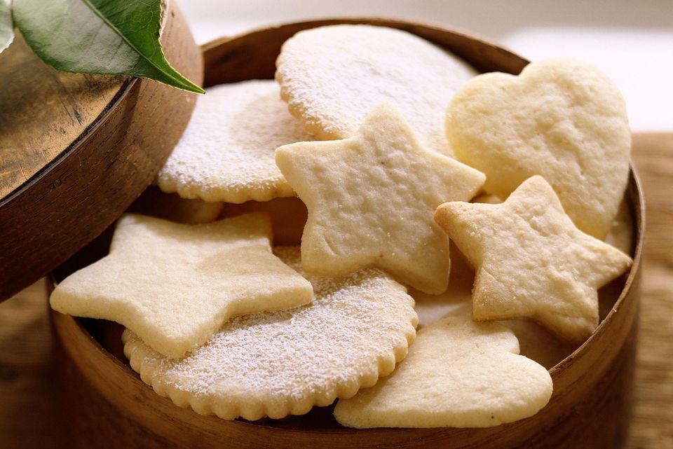Simple, classic sugar cookies