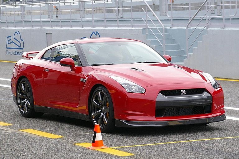 Nissan GT-R front view