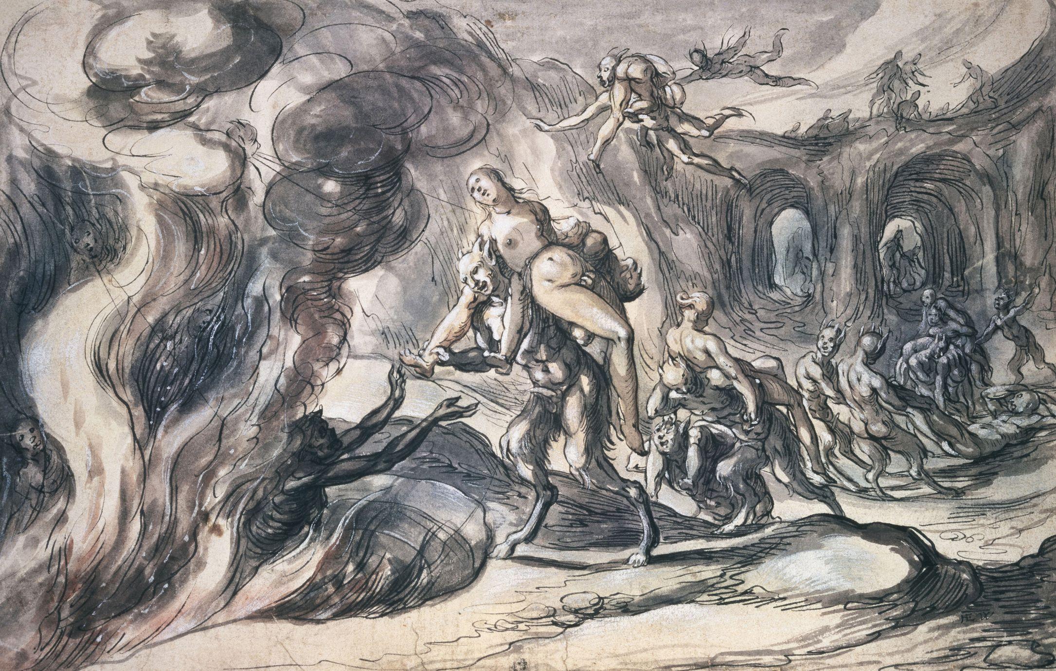 Hades, Patron God of the Underworld in Greek Mythology
