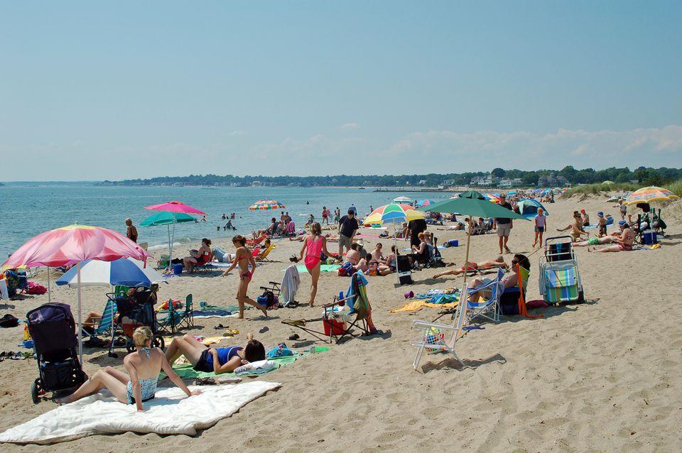 Hammonasset Beach State Park on a Summer Day