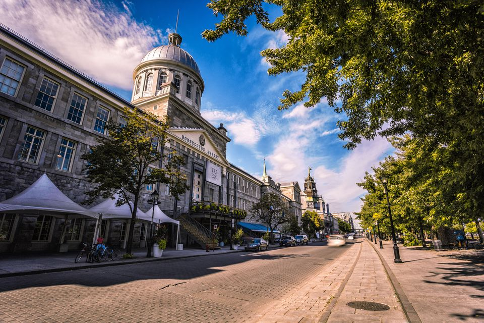 Bonsecours Market of Montreal