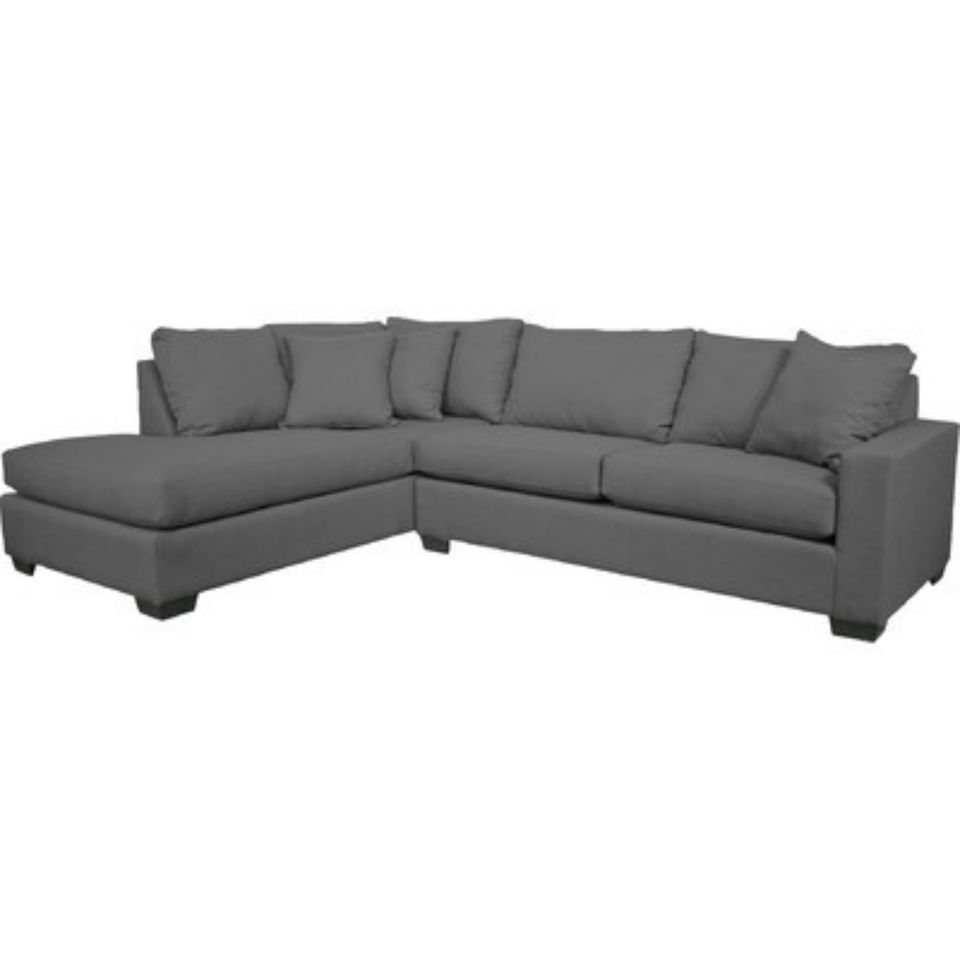 Grey sectional from Wayfair