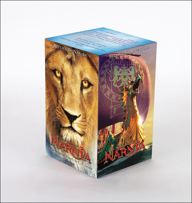 The Chronicles of Narnia - boxed set of books