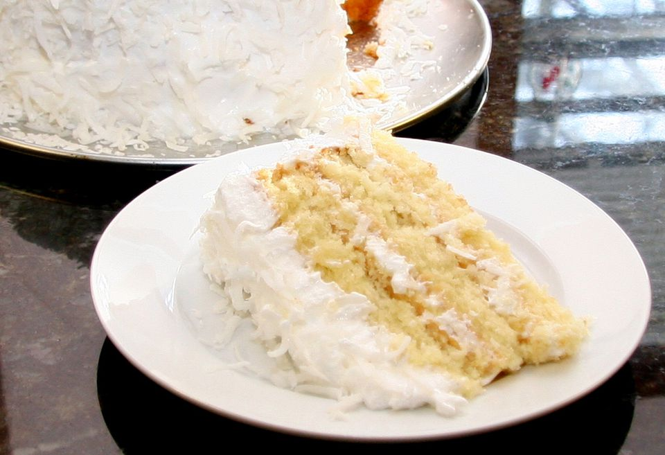 Coconut Cake and Frosting