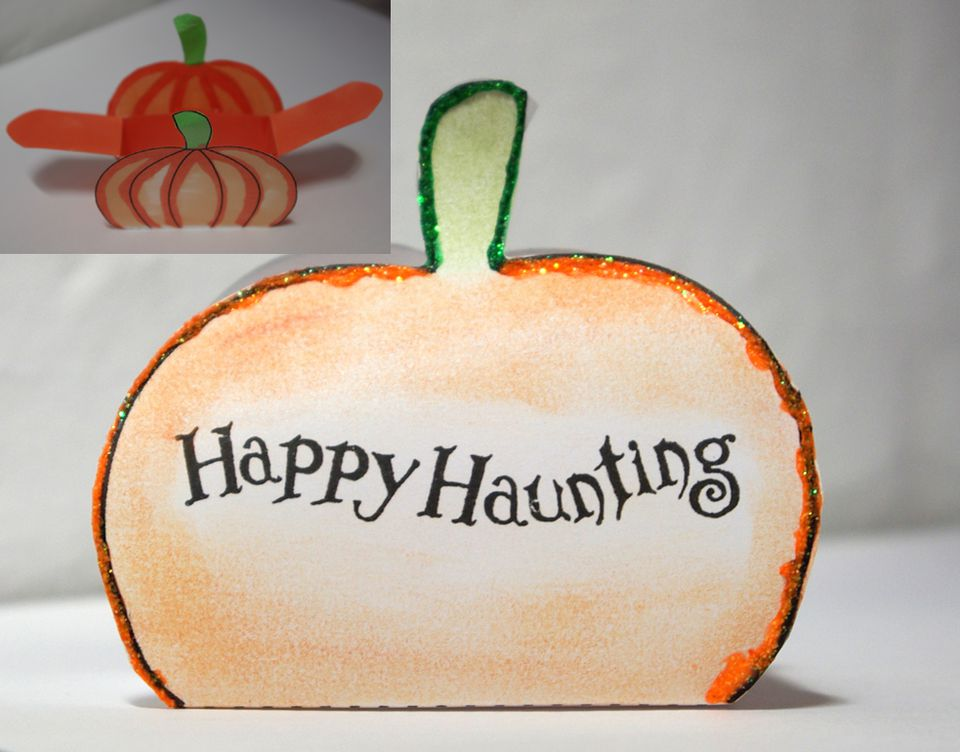 Pumpkin Favor Box