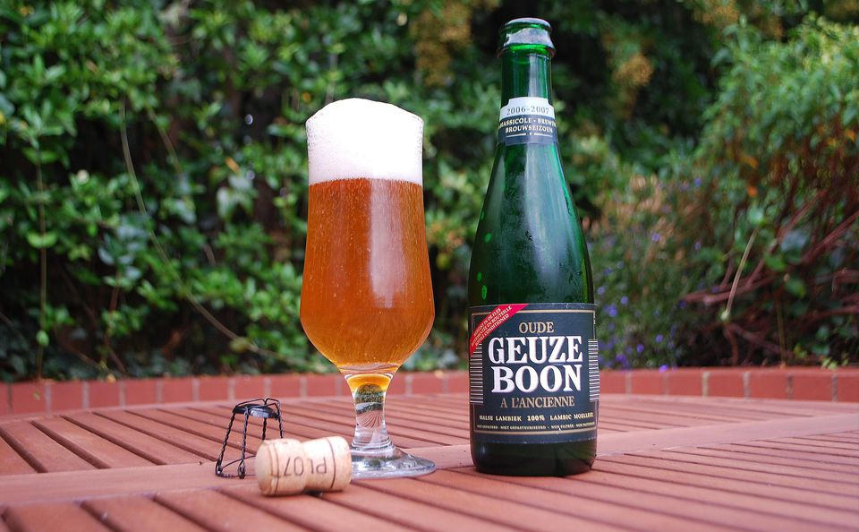 Geuze Boon: A Belgian lambic beer.