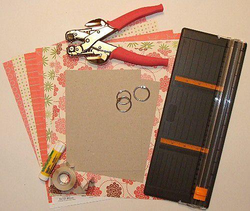 Pocket Mini Scrapbook Supplies