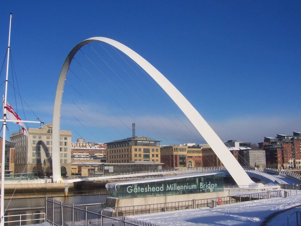 Newcastle's Millennium Bridge
