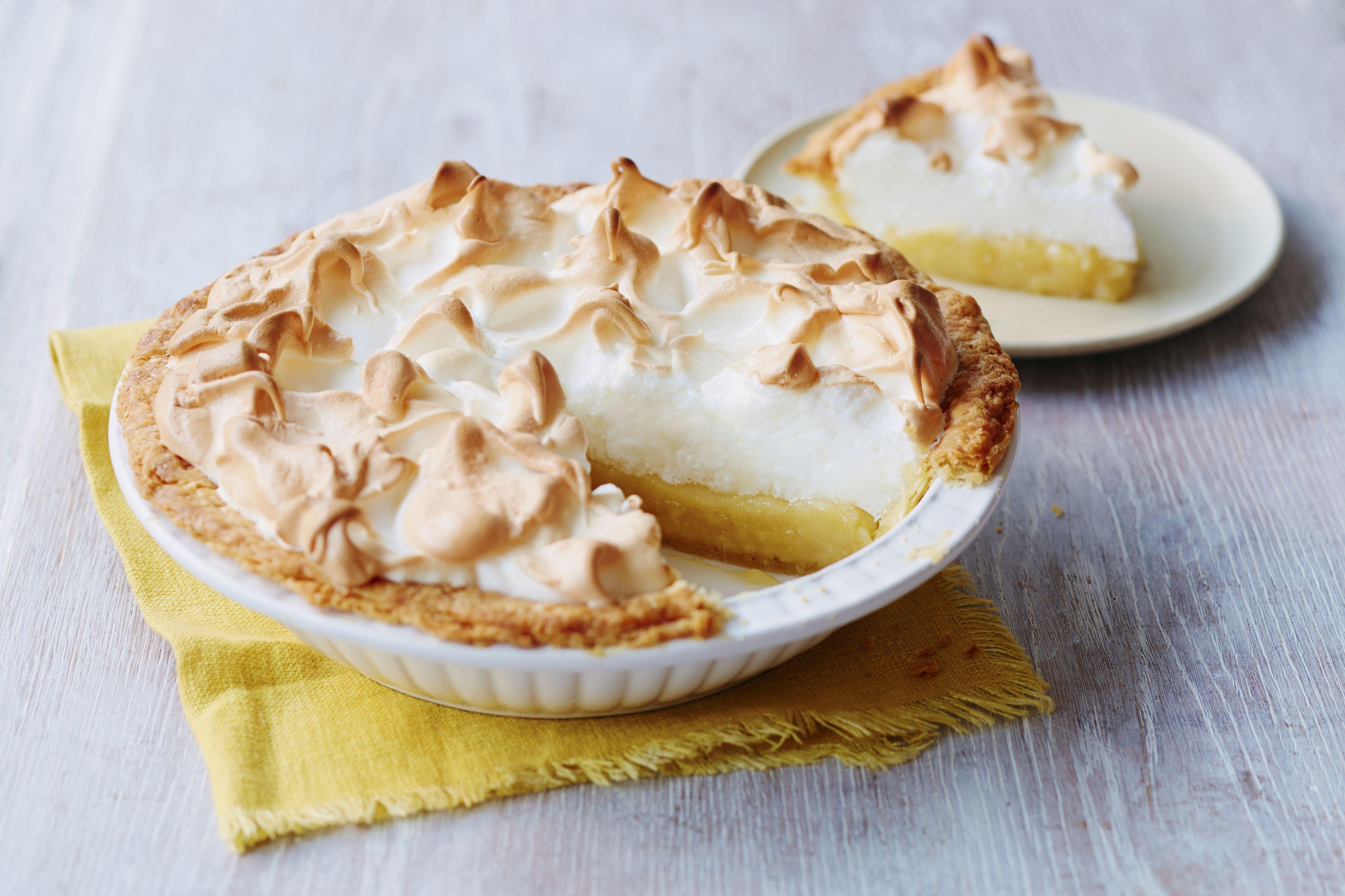 lemon meringue pie with graham cracker crust recipe