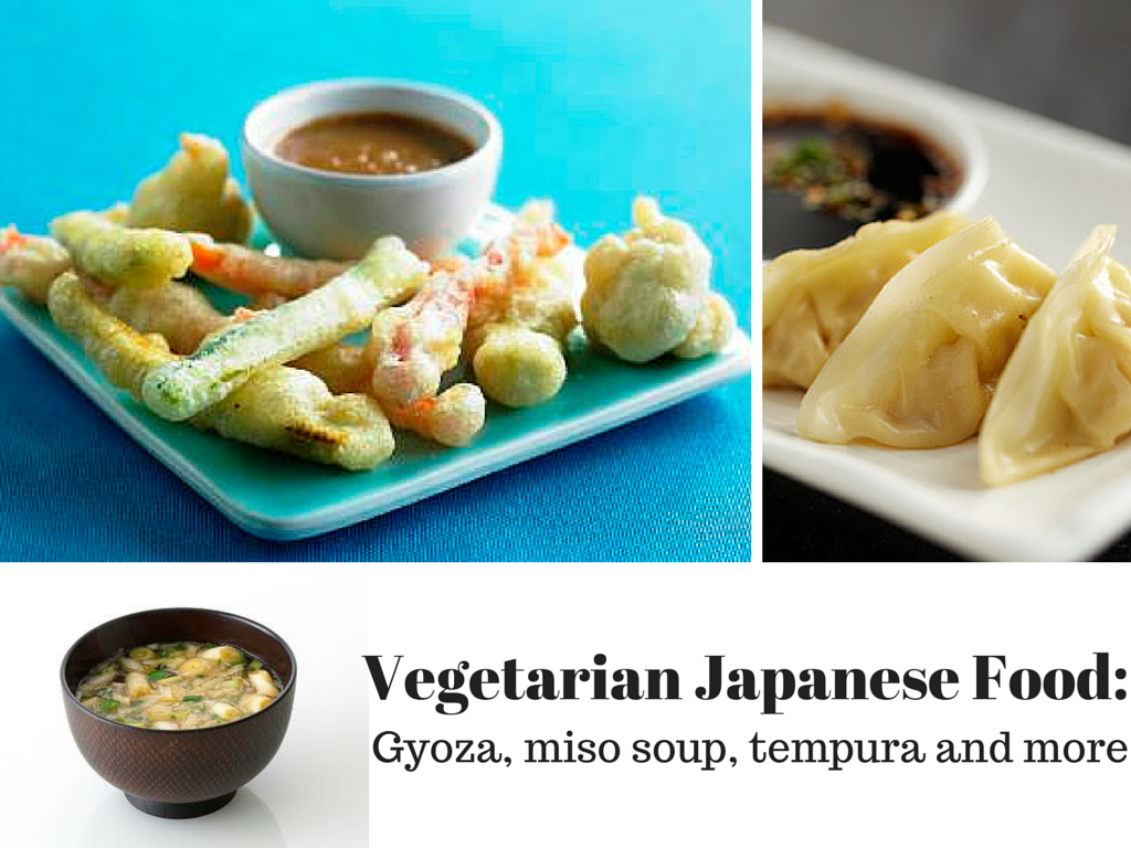 Japanese vegetarian and vegan food recipes for Akina japanese cuisine menu