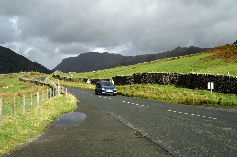 Kirkstone Pass in the Lake District - The Roadway Called