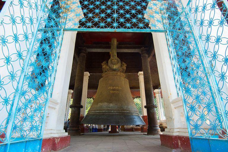 The biggest bell in the world. Mingun Bell at Mandalay ,Myanmar (Burma)
