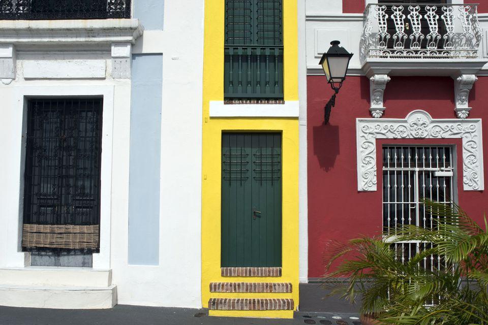 Narrow House, Old San Juan, Puerto Rico