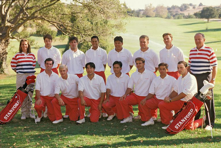 NCAA Golf 1994 - Stanford University Team Picture