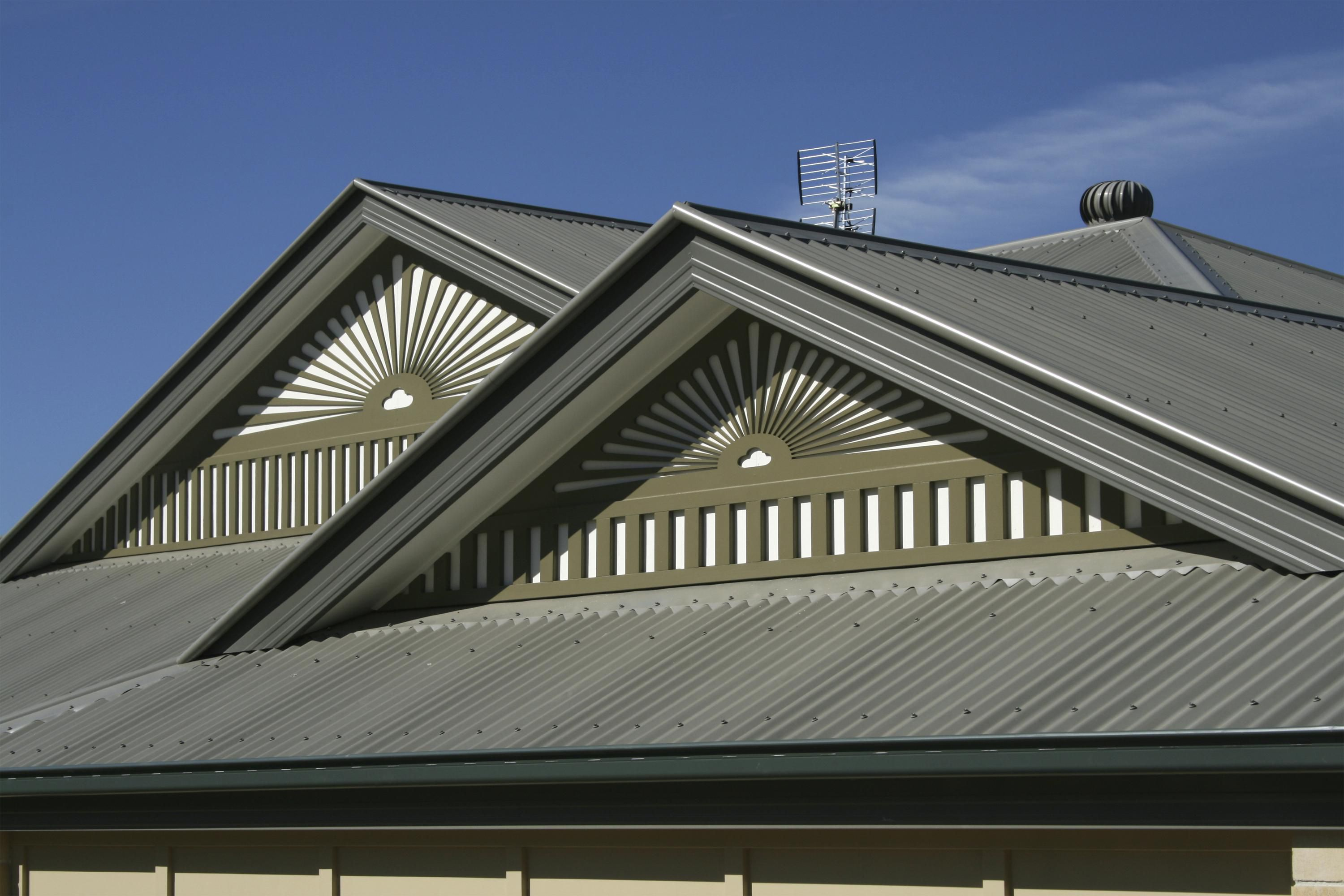 Painting Metal Roof Vents