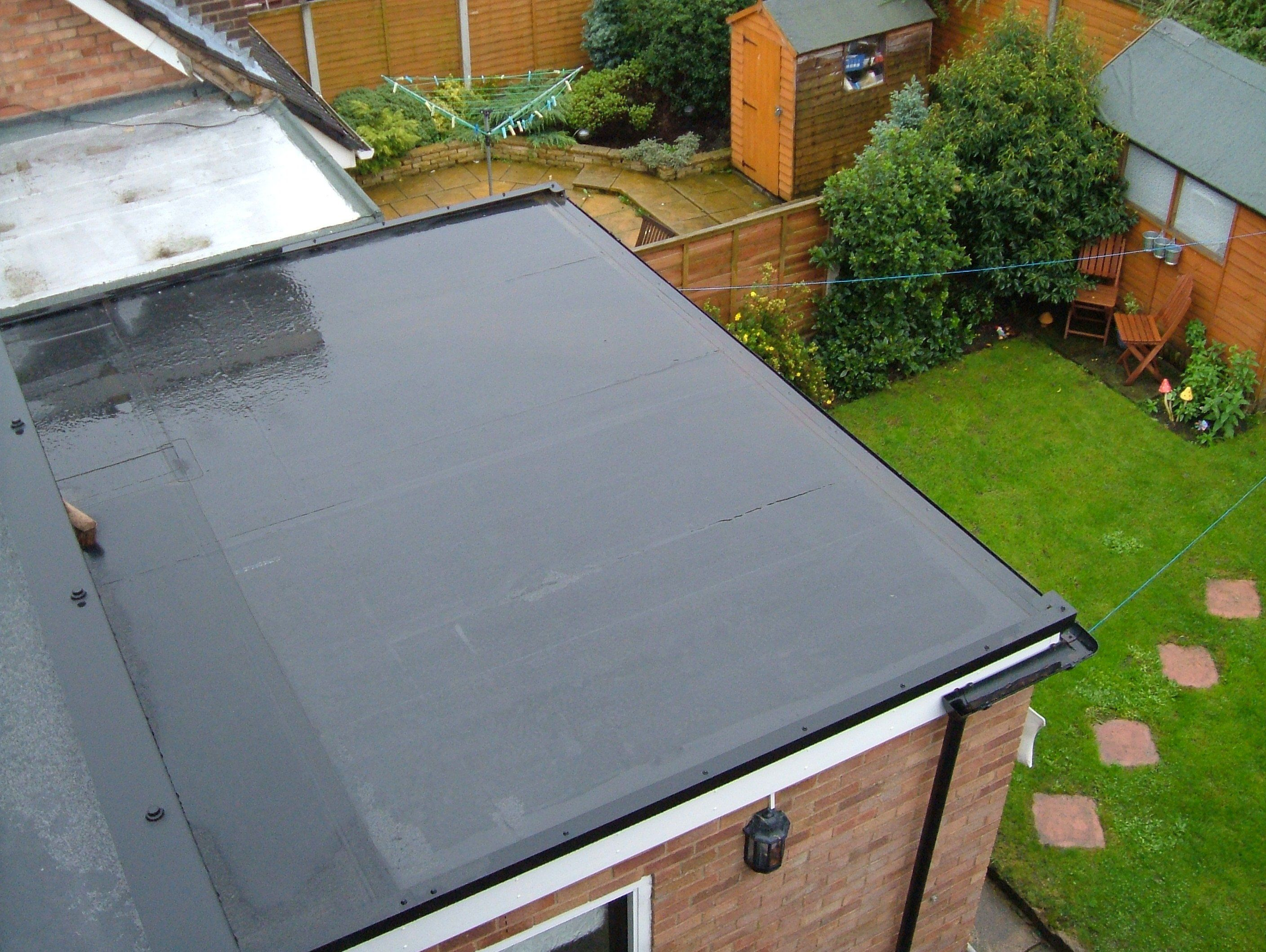Different types of flat roof material options Type of roofing materials