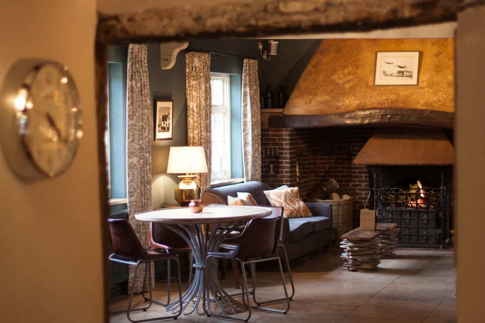 The bar at the Barrow House
