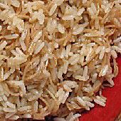 Rice with Angel Hair Pasta