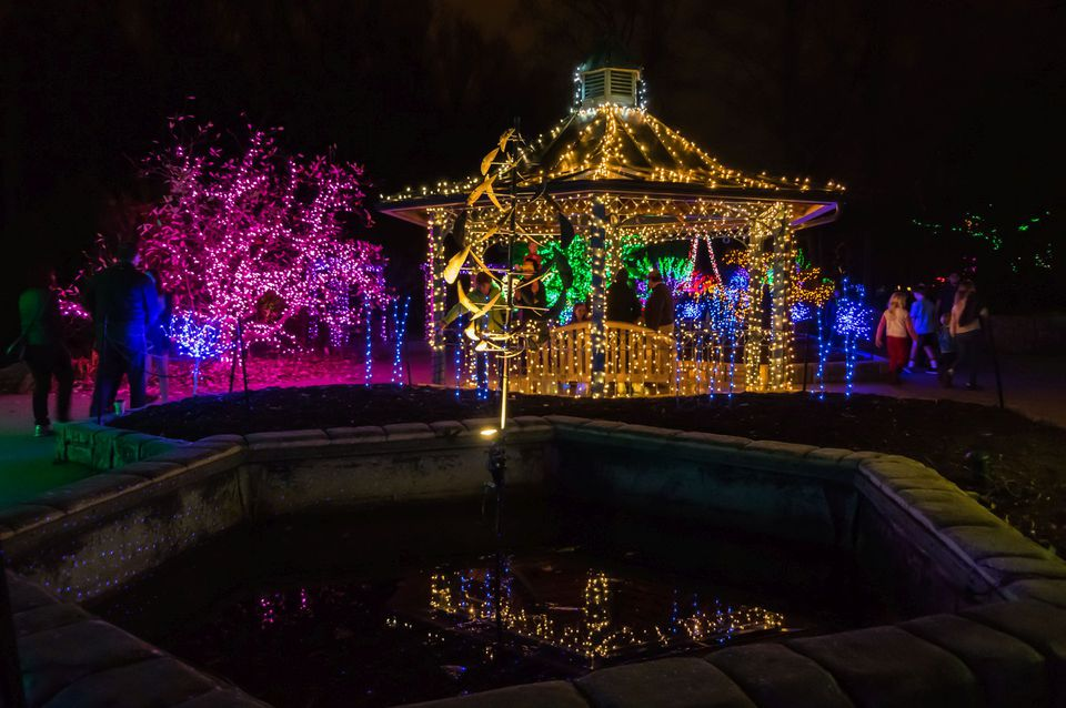 Brookside Gardens Of Lights 2017 Christmas Display Tripsavvy