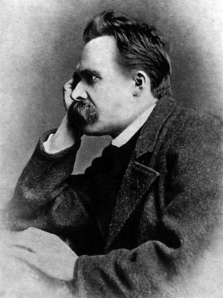 Portrait of Friedrich Nietzsche, 1882