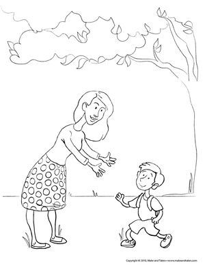 make and takes free mothers day coloring pages - Love Poem Coloring Pages For Adults