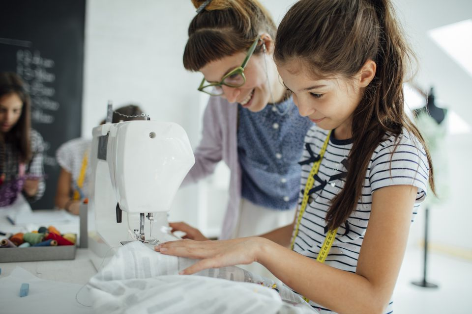 Sewing school for kids