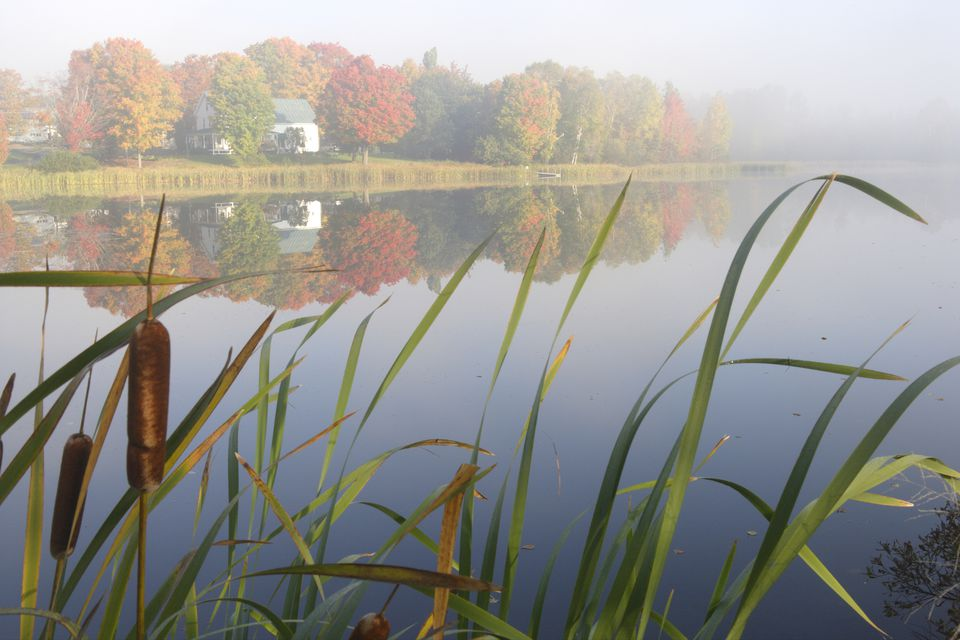 Rangeley Lake in Autumn