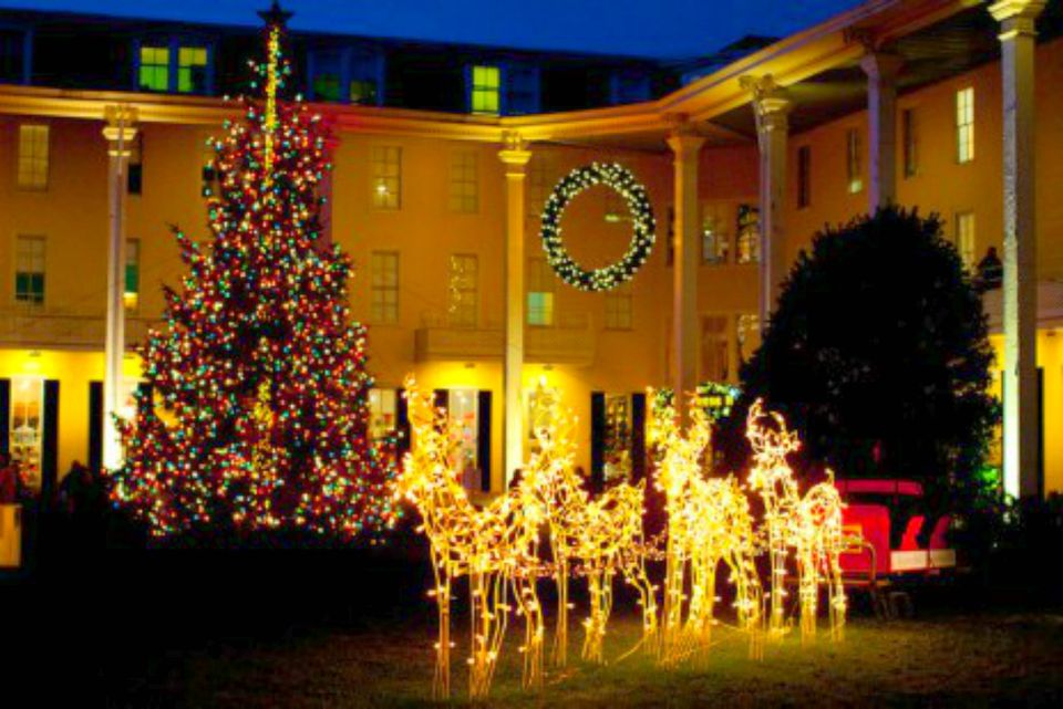 Christmas Winter Wonderland at Congress Hall in Cape May
