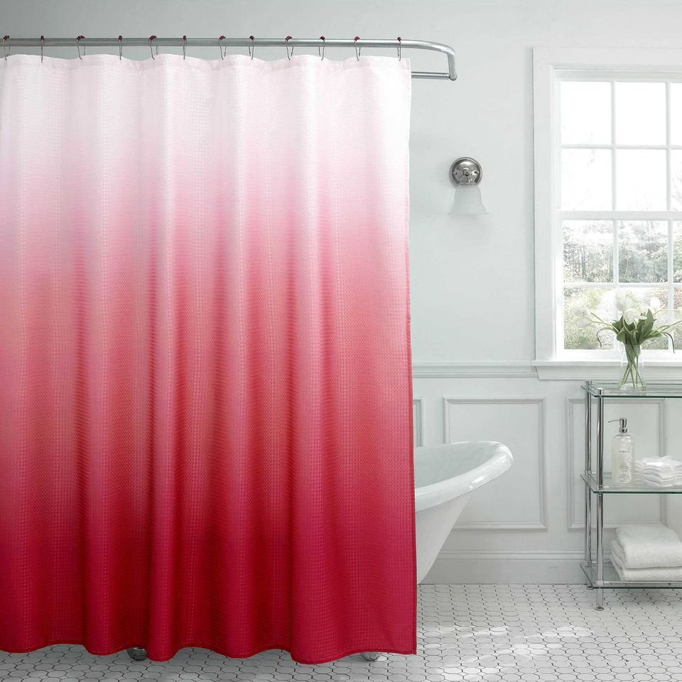 Colorful Ombre Shower Curtain Bed Bath Beyond