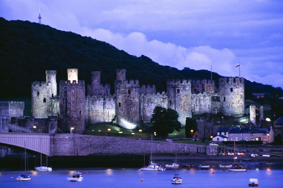 Conwy Castle at Dusk