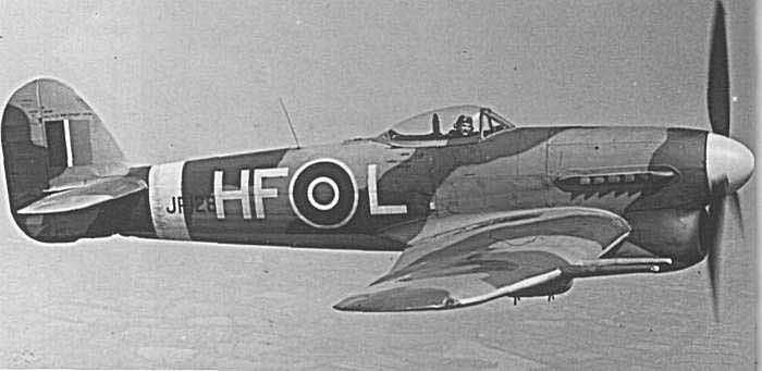 RAF Hawker Typhoon