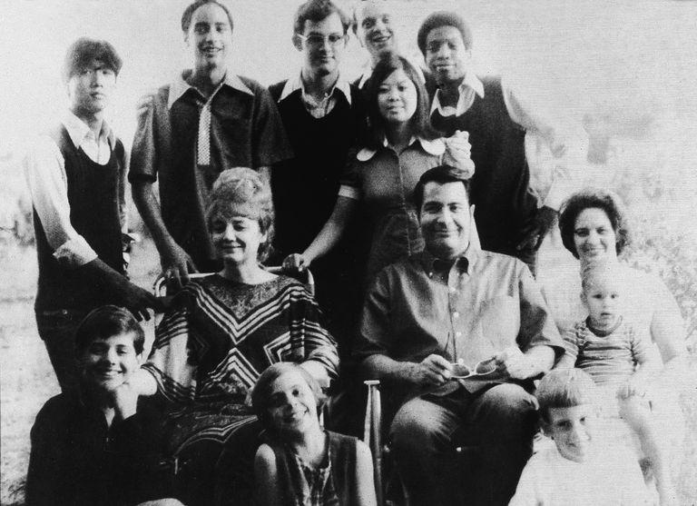 Jim Jones and his family.