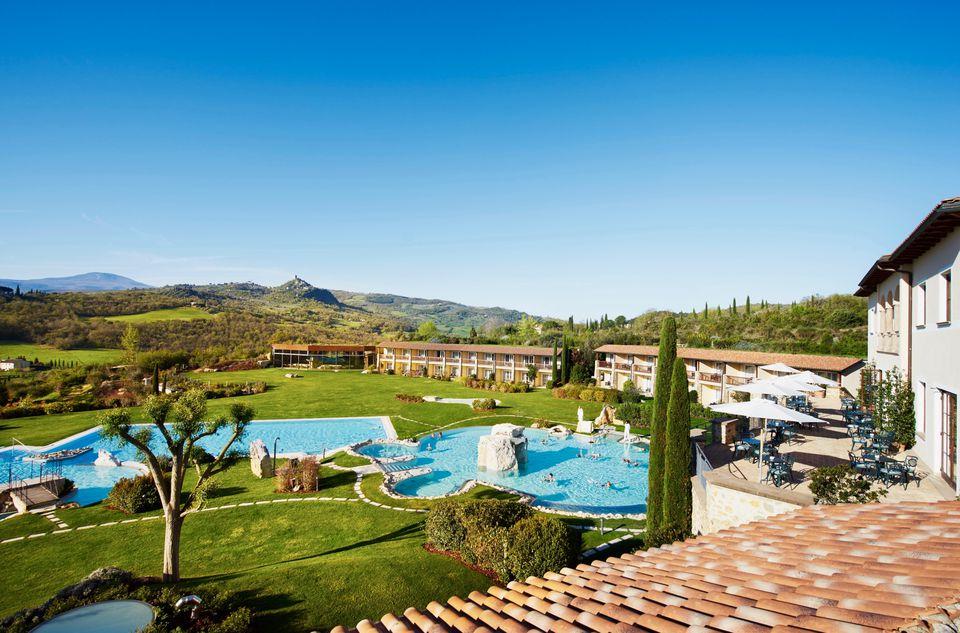 Adler Thermae Hot Springs Spa Resort In Luscious Tuscany