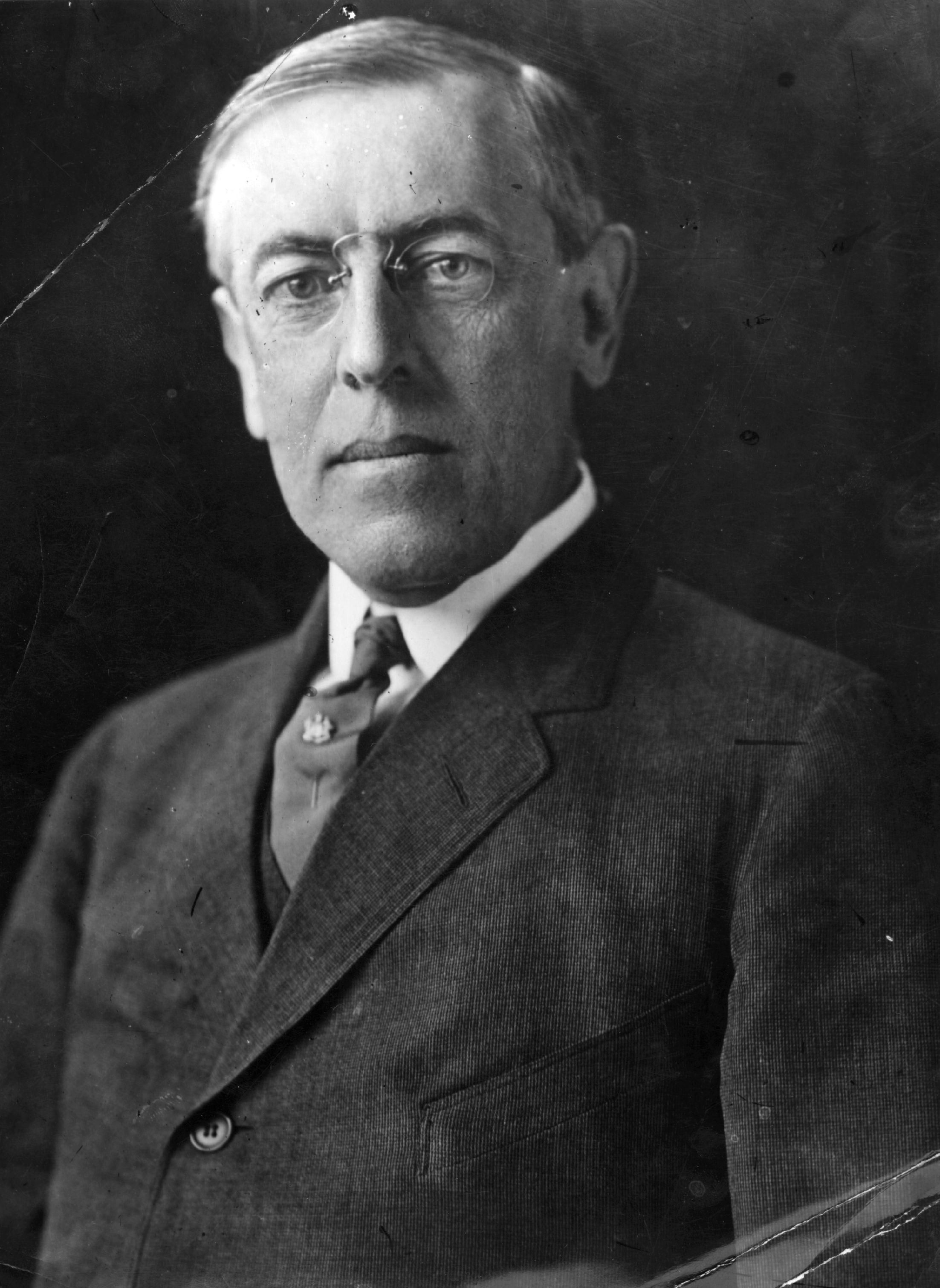 biography of woodrow wilson the 28th president of the united states of america