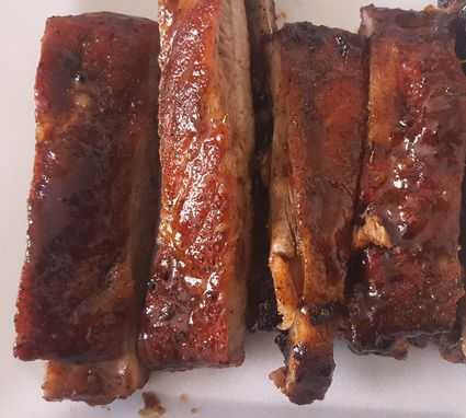 how to cook spare ribs on the barbeque