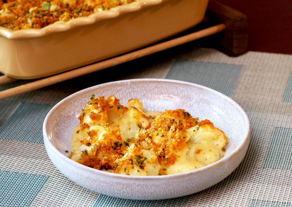Cauliflower and Cheese Bake