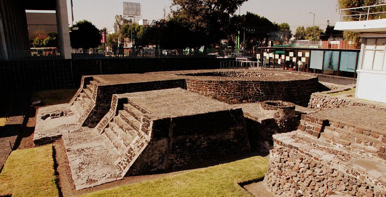 Tlatelolco Reconstructed Foundations, Mexico City
