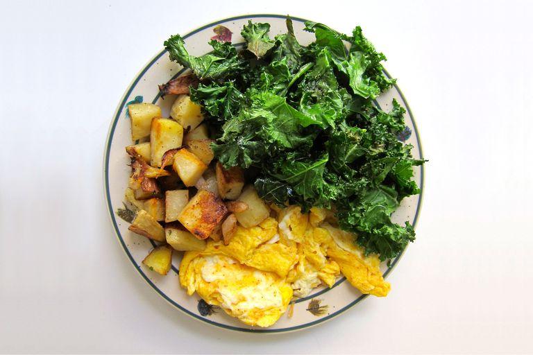Turmeric Scrambled Eggs