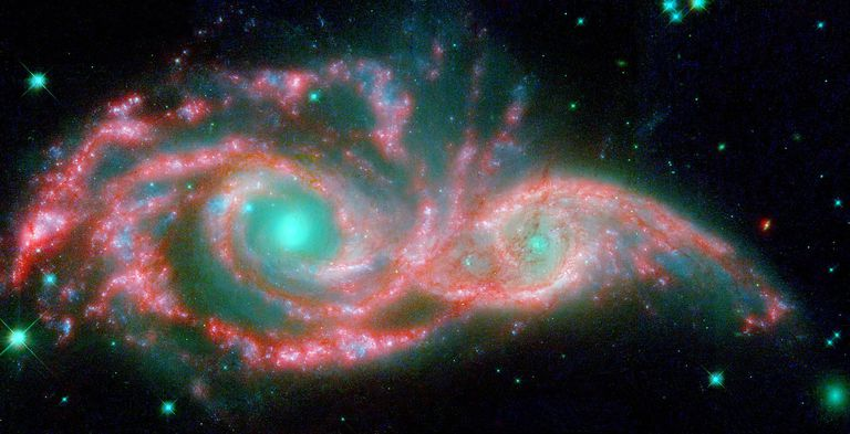 Interacting Galaxies - Galaxy Mergers and Collisions