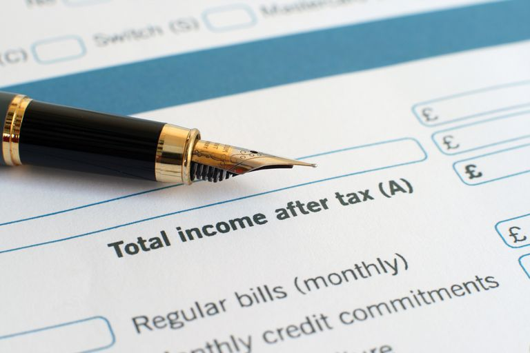 Income Tax Form to Calculate Deductions