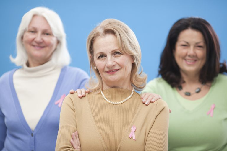 three women who are caner survivors