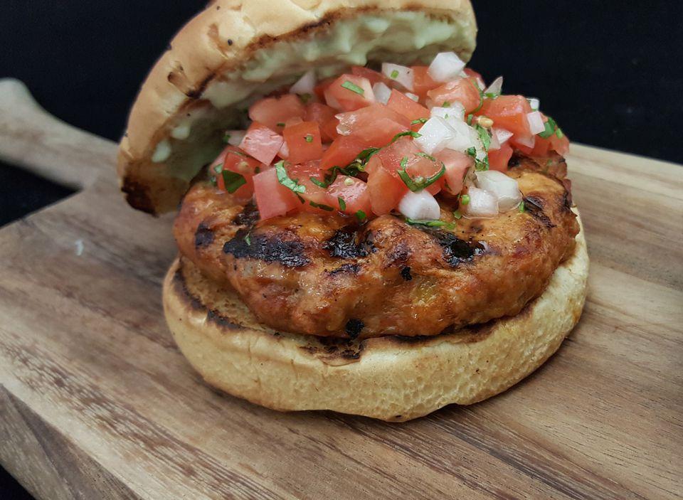 Pork Chorizo Burger Recipe