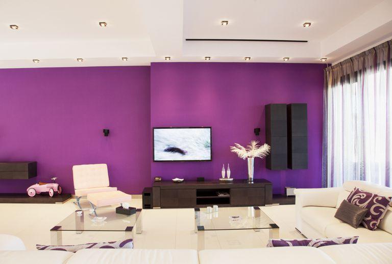 Cual es el mejor color de pintura para tu hogar - Pinturas para paredes de salon ...