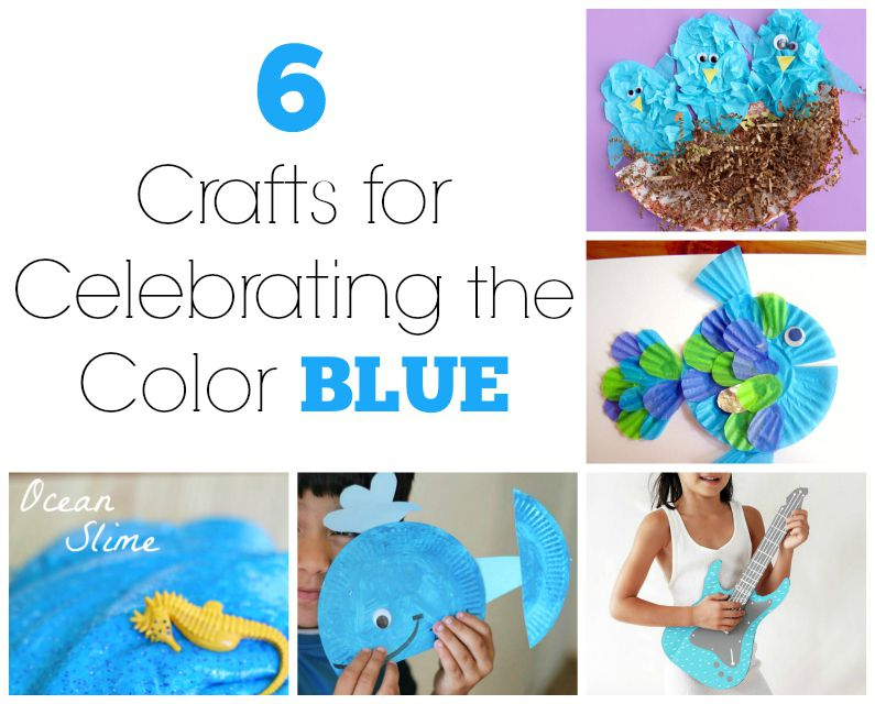6 Crafts for Celebrating the Color Blue