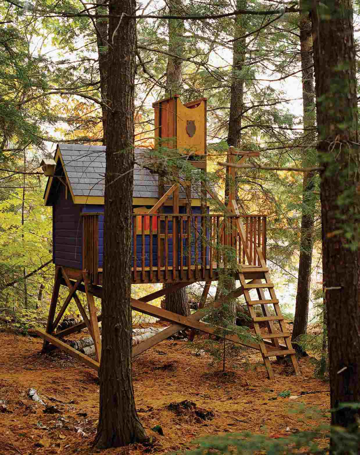 9 completely free tree house plans - House Plans With Tree