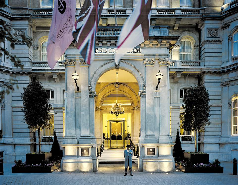 The Langham, London, world's first grand hotel