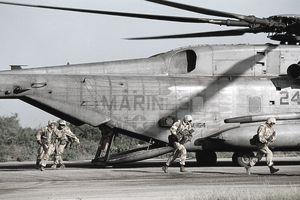 U.S. Marines Landing in Somalia for Famine Relief