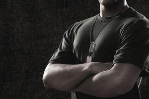 US Marine Corps Solider Dark